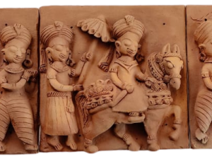 Royal Journey Terracotta Plaques