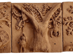 Jungle Tales Terracotta Plaques