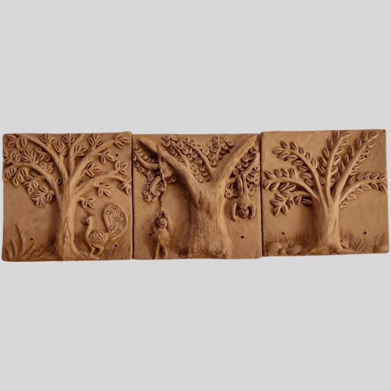 Jungle Tales Terracotta Plaques