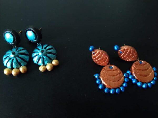 Terracotta Kashish Danglers Set of 2  