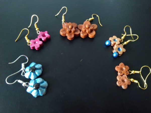 Inayat Floral Collection Set of 5 Earrings |