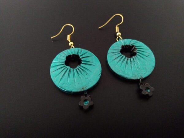 Sapphire Blue Tone Earring |