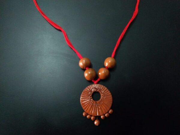 Handcrafted Terracotta Pendant  