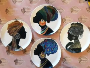 Faces Of Africa Wall Plates