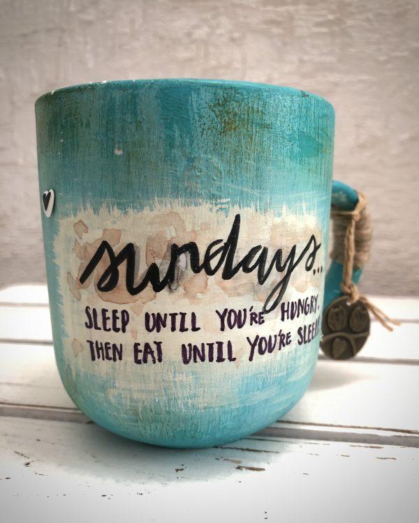 Coffee Mug Pen Holder or Planter |