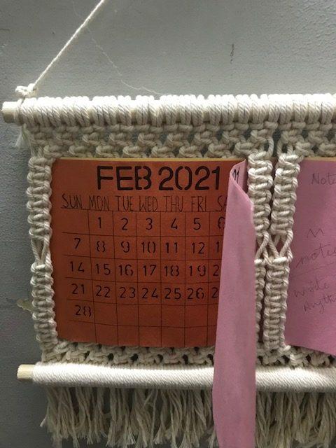 Macrame 2021 Calendar   Macrame 2021 Calendar  