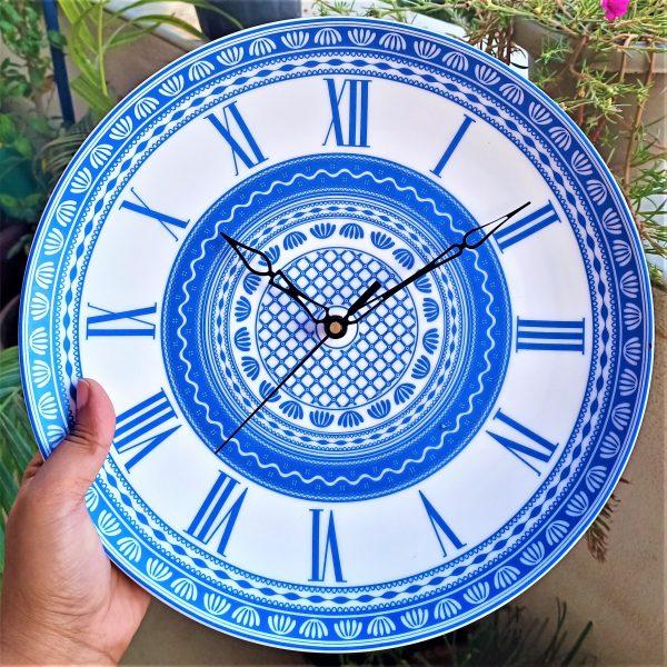 Bohemian Wall Clock-11 INCHES - Scratch Free |