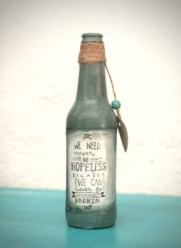Home Decor - Upcycled Bottles |