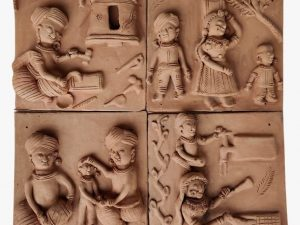 The United Family of Terracotta Plaques