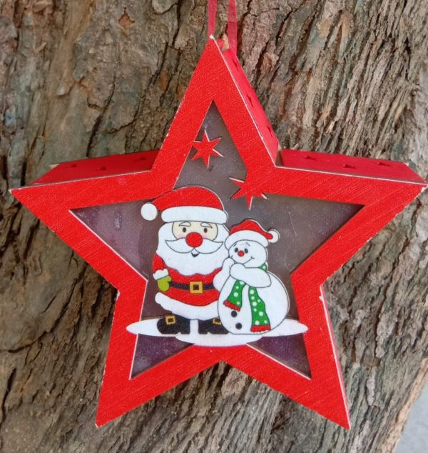 Merry Christmas 2 Santa Light Star