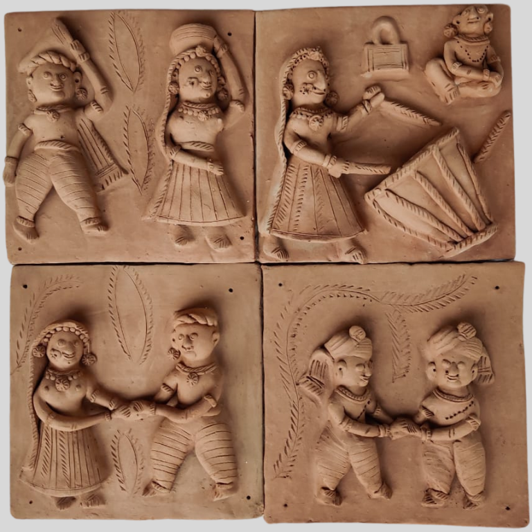 Tales From The Untold Terracotta Plaques