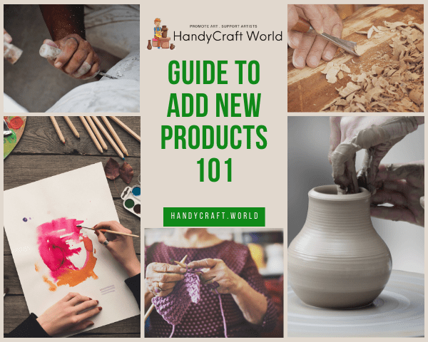 Guide To Add New Products - 101