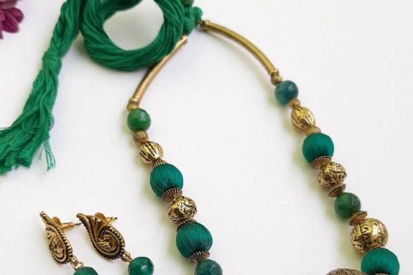 Green Ethnic Antique Neckset | Green Ethnic Antique Neckset |