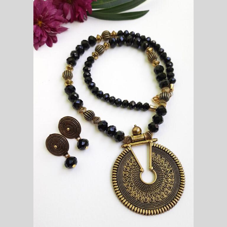 Black Ethnic Antique Neckset | Black Ethnic Antique Neckset |