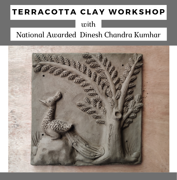 [24 Jan] Terracotta Clay Workshop By Dinesh Molela (With Materials)