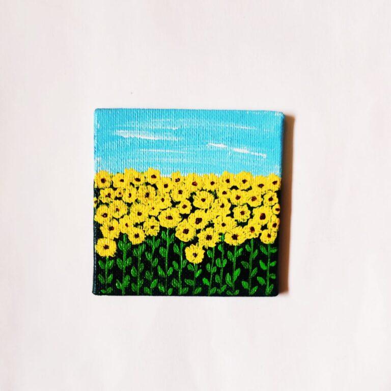 Sunflower Field Magnet   Sunflower Field Magnet  