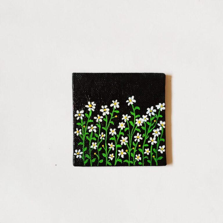 Daisy Field fridge Magnet | Daisy Field fridge Magnet |