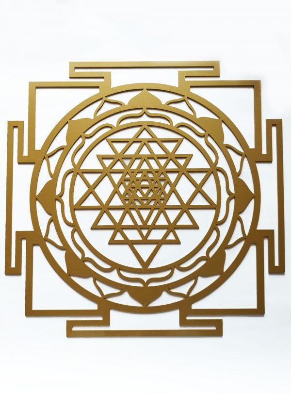 Sri Yantra Metal – Gold | Sri Yantra Metal |