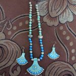 Ornate Terracotta Necklace Set With Earrings photo review