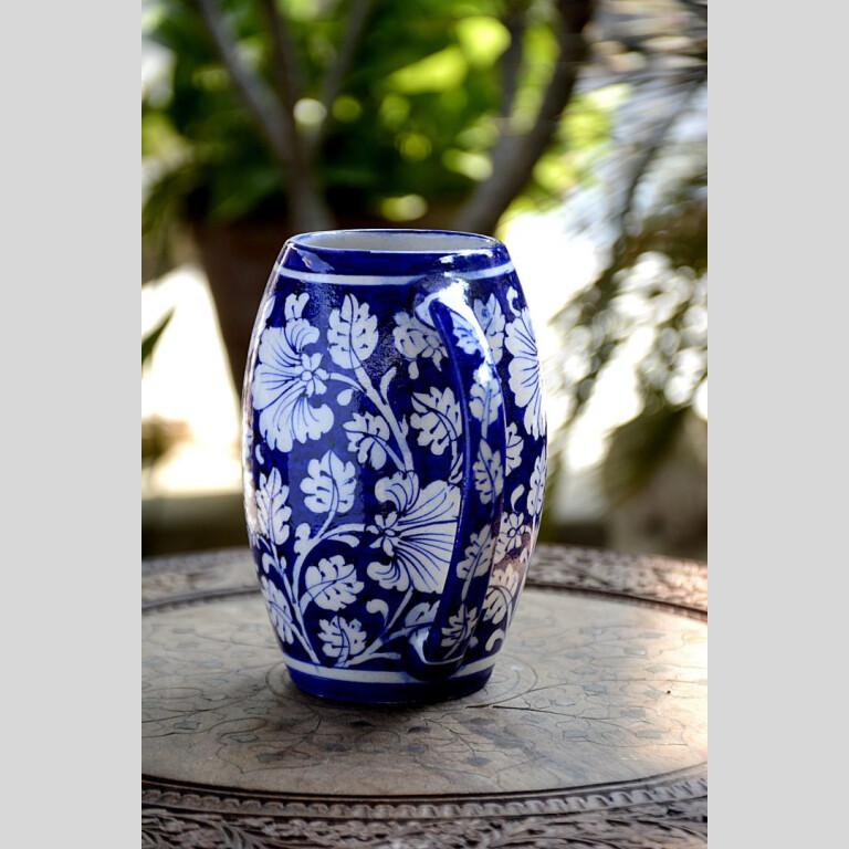Blue Pottery Blue & White Floral Beer Mug | Blue Pottery Blue & White Floral Beer Mug |
