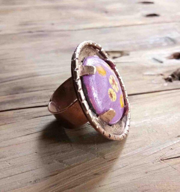 Purple Bloom Ring | Purple Bloom Ring |