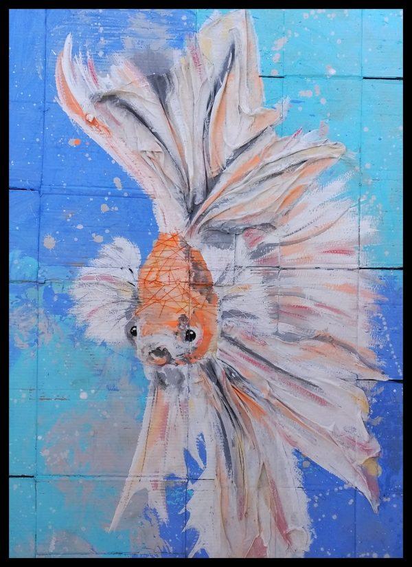 Huge Gold Fish | Huge Gold Fish |