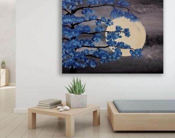Night Moon Painting | Night Moon Painting |