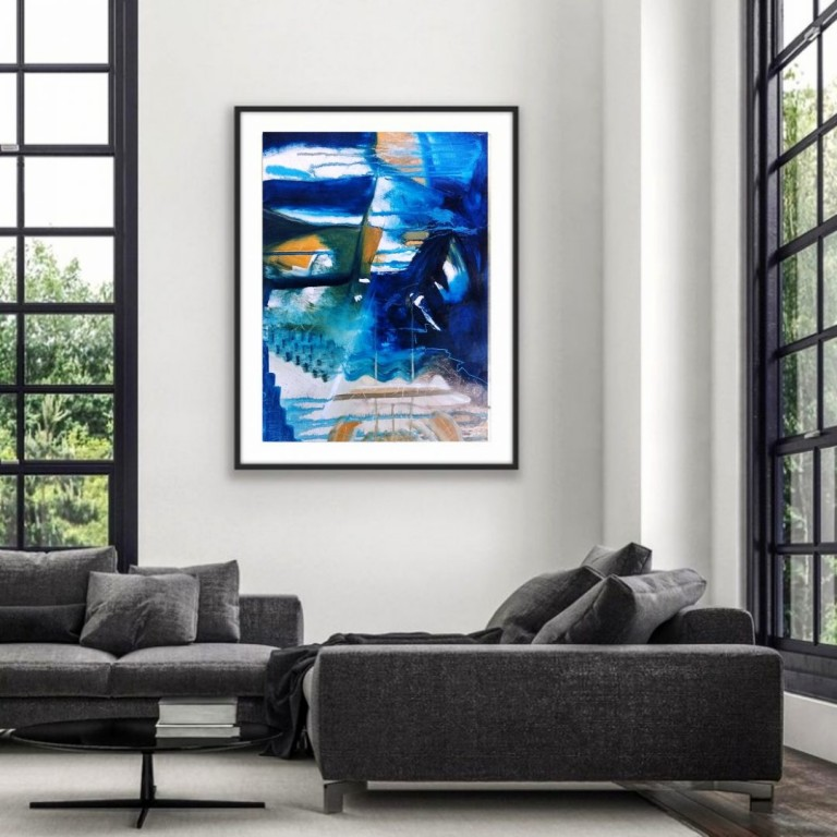 Obsession, Abstract Oil Painting | Abstract Oil Painting |