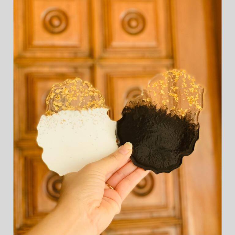 Resin Coasters (Set Of 2) | resin |