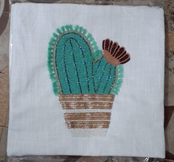 Designer Cactus Cushion Cover