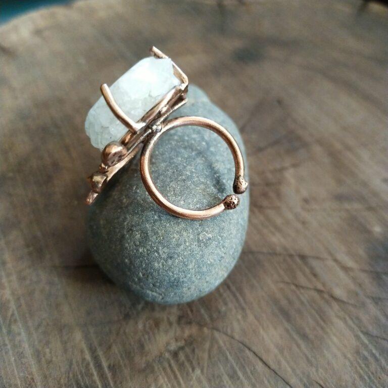 Solar Agate Ring  